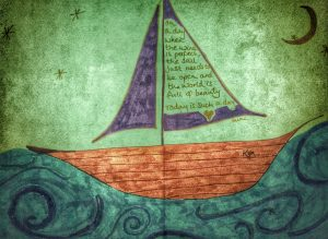 Kym's boat